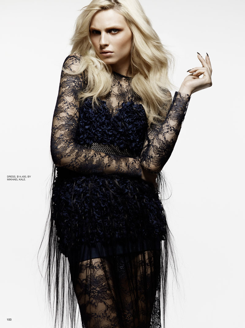 Andrej Pejic by Moo King for Fashion Canada February 2012