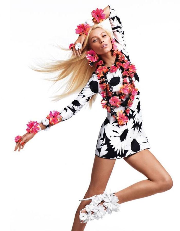 Vika Falileeva for Blumarine Spring 2012 Campaign by Sebastian Faena