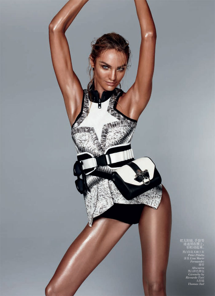 Candice Swanepoel by Daniel Jackson for Vogue China February 2012