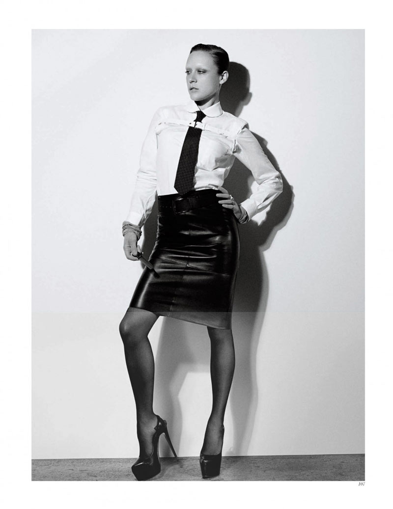 Chloe Sevigny by Craig McDean for Interview February 2012
