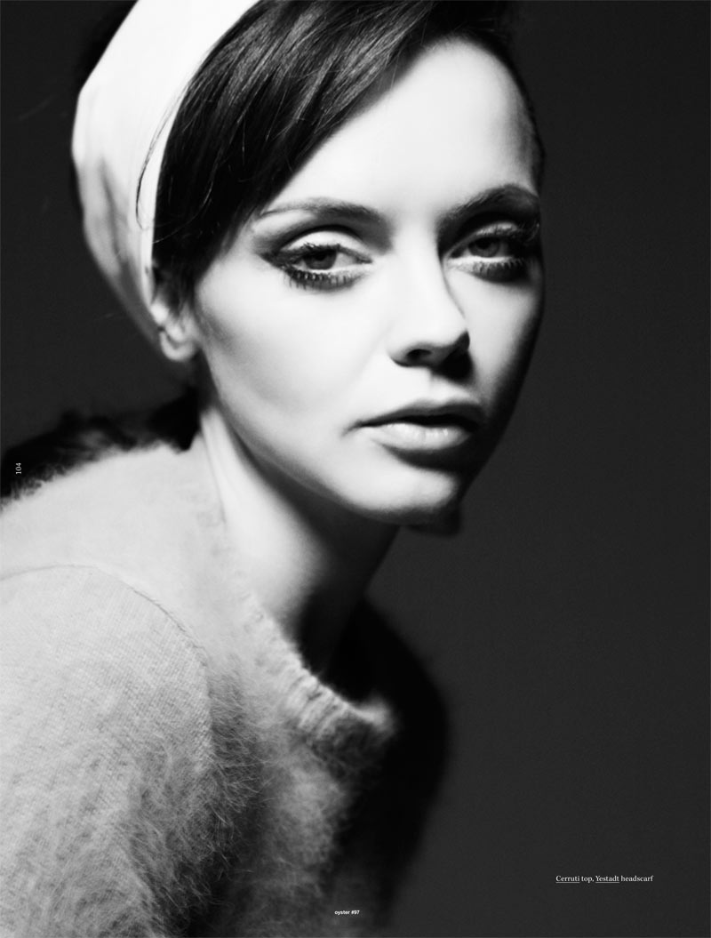 Christina Ricci by Gregory Harris for Oyster #97