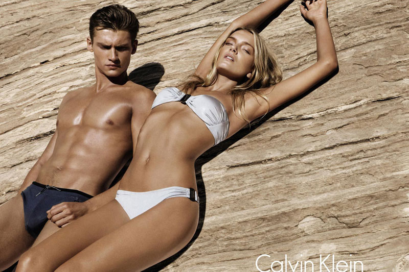 Lily Donaldson for Calvin Klein White Label Spring 2012 Campaign by Sebastian Kim