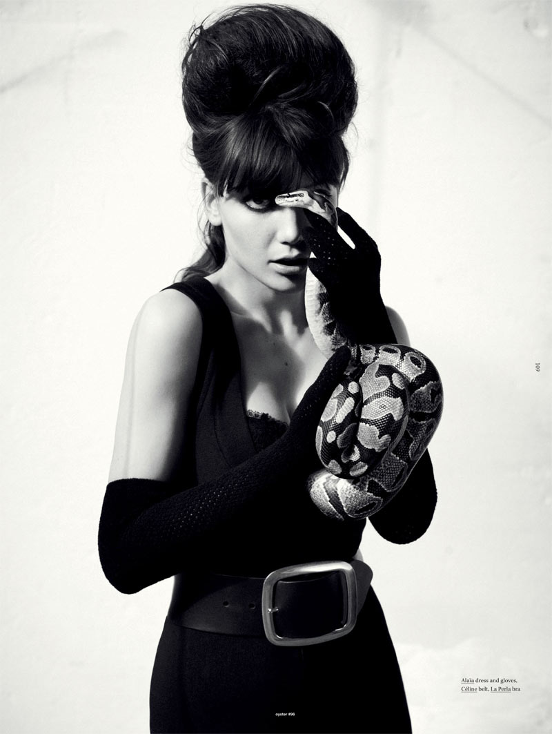 Daisy Lowe by Will Davidson for Oyster #96