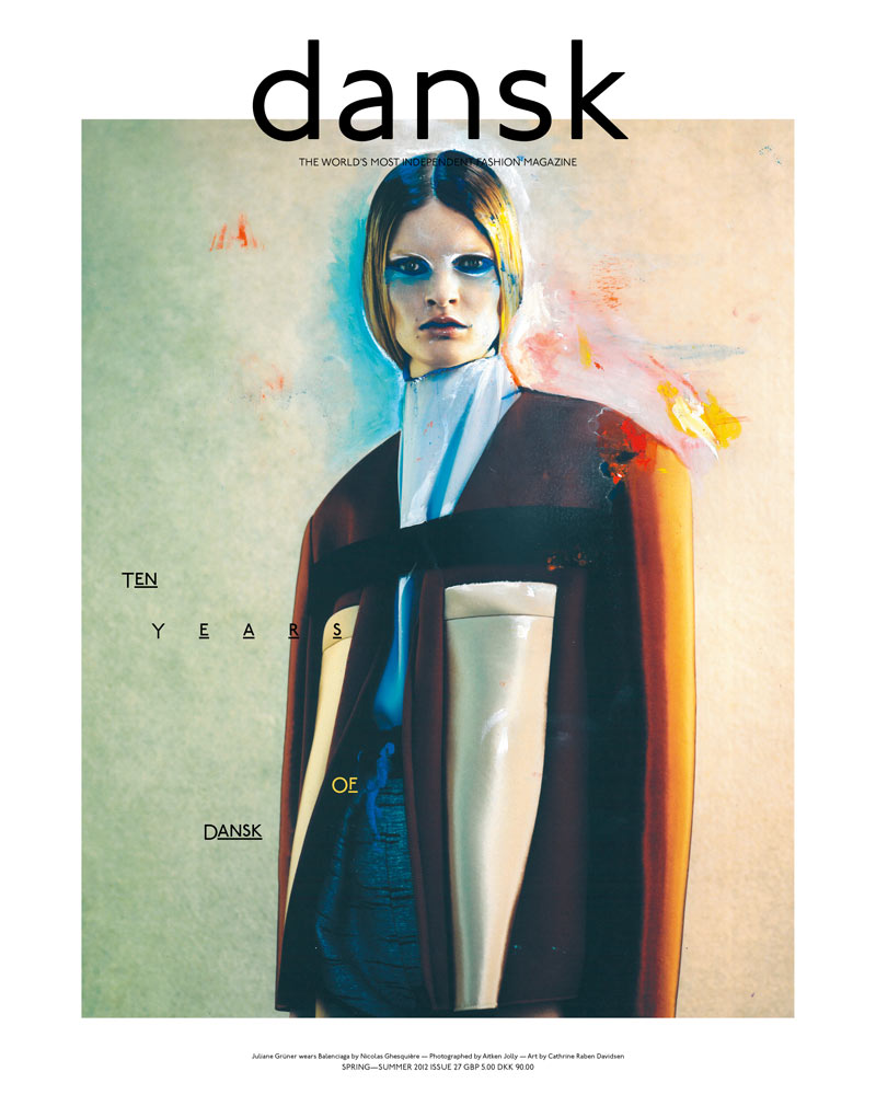 Freja Beha Erichsen & Juliane Gruner Cover Dansk S/S 2012