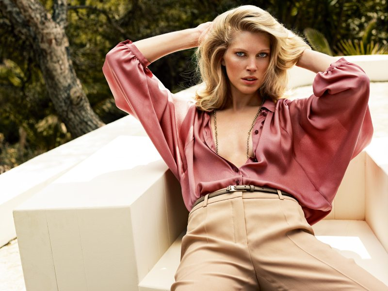 Iselin Steiro for Escada Spring 2012 Campaign by Knoepfel & Indlekofer