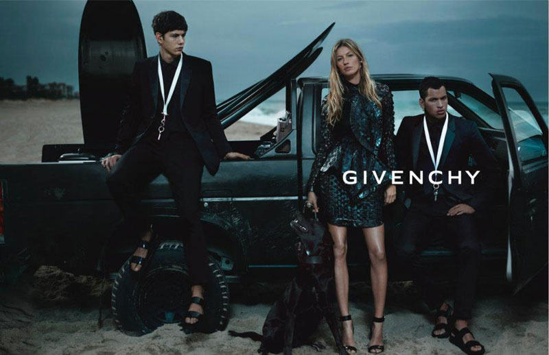 Gisele Bundchen & Mariacarla Boscono for Givenchy Spring 2012 Campaign by Mert & Marcus