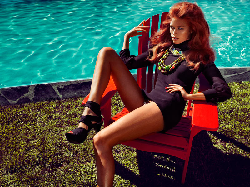 Heide Lindgren & Klara Wester for Guess by Marciano Spring 2012 Campaign by Hunter & Gatti