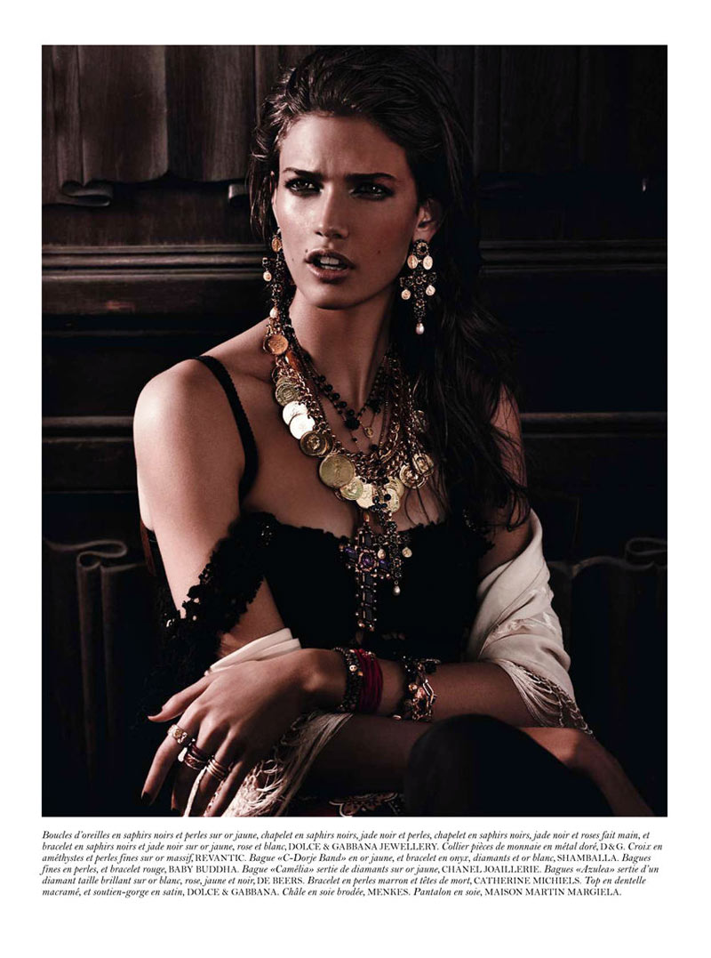 Kendra Spears by Giampaolo Sgura for Vogue Paris February 2012