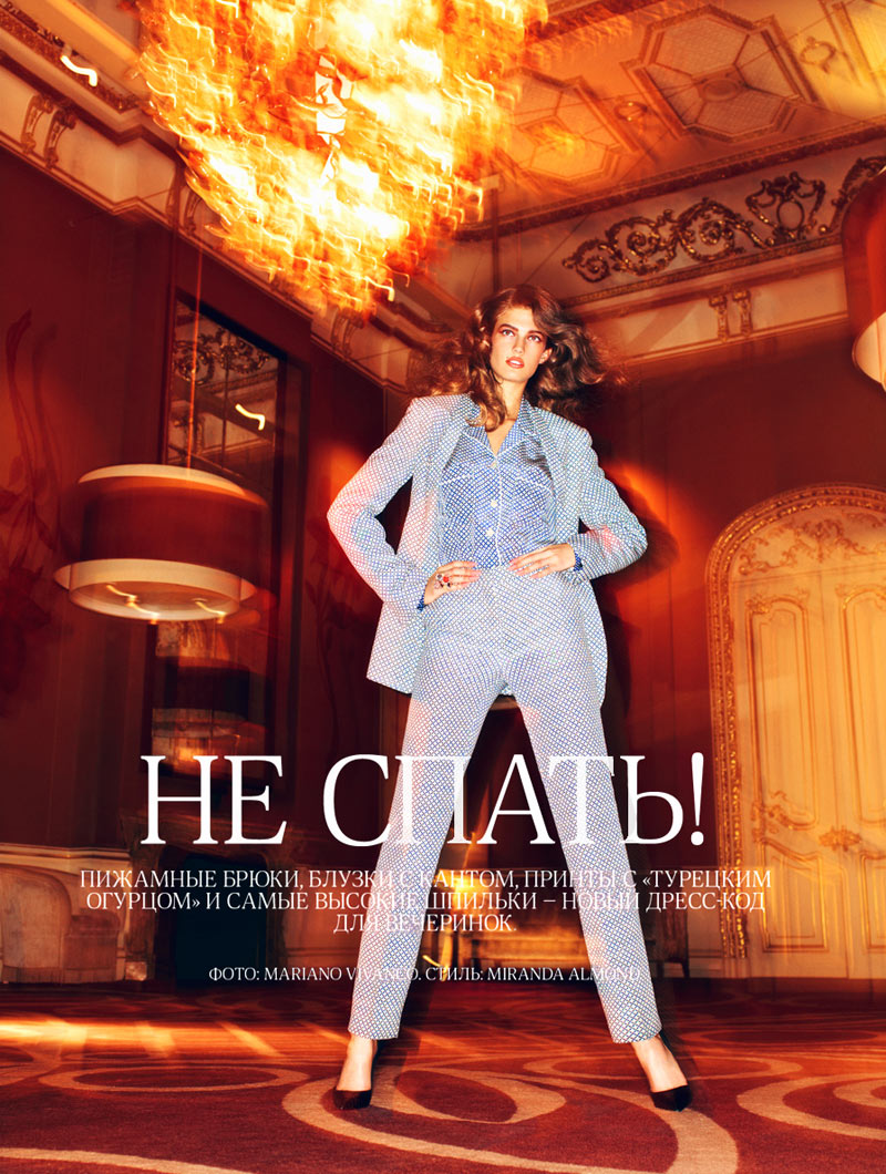 Kendra Spears by Mariano Vivanco for Vogue Russia February 2012
