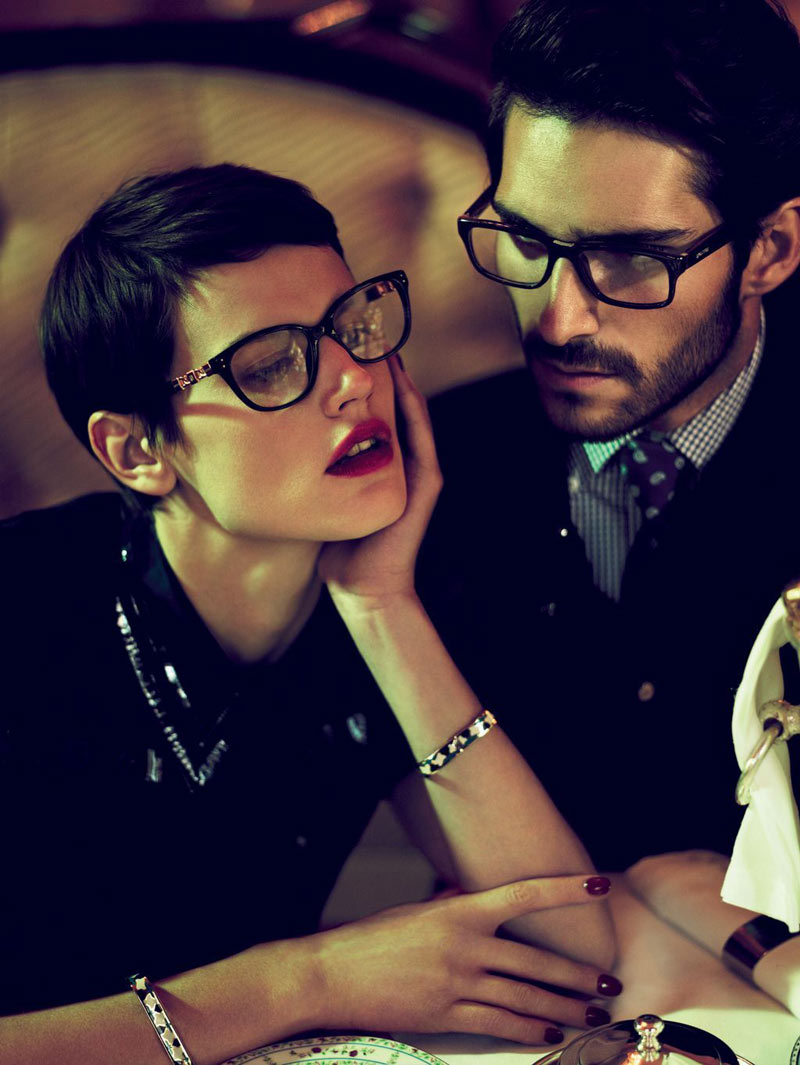 Saskia de Brauw for Loewe Spring 2012 Campaign by Mert & Marcus