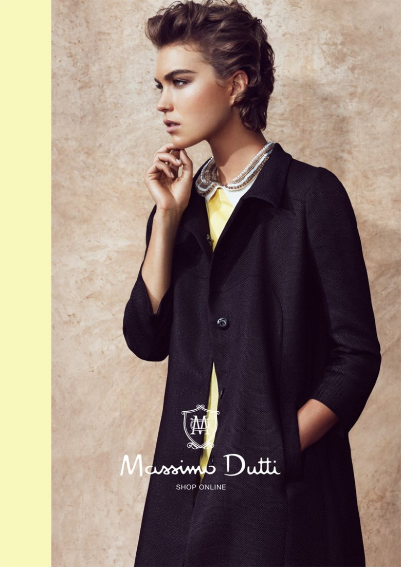 Arizona Muse for Massimo Dutti Spring 2012 Campaign by Hunter & Gatti