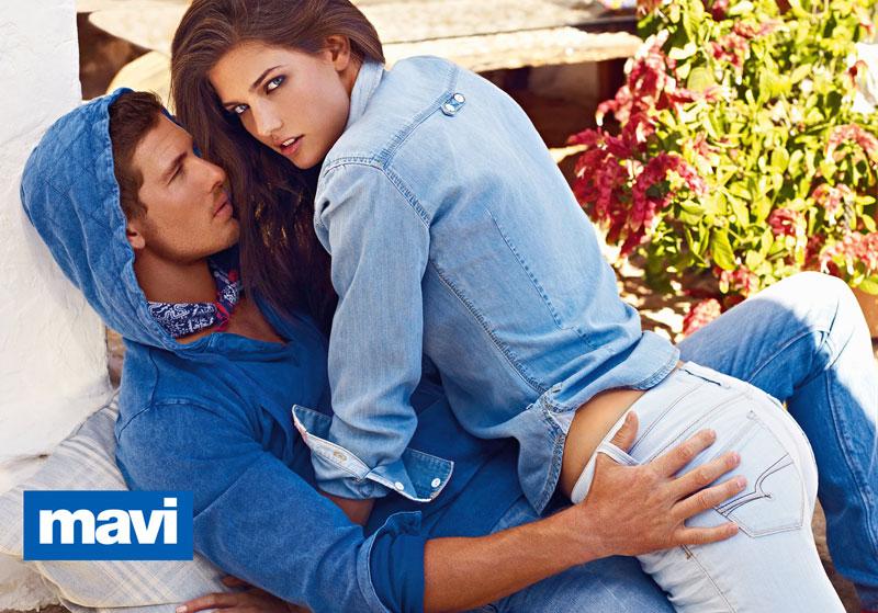 Aline Weber & Kendra Spears for Mavi Spring 2012 Campaign by Mariano Vivanco