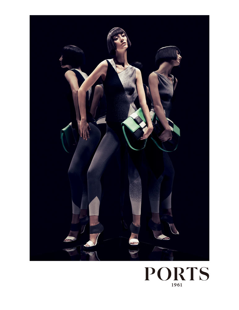 Alana Zimmer for Ports 1961 Spring 2012 Campaign by Inez & Vinoodh