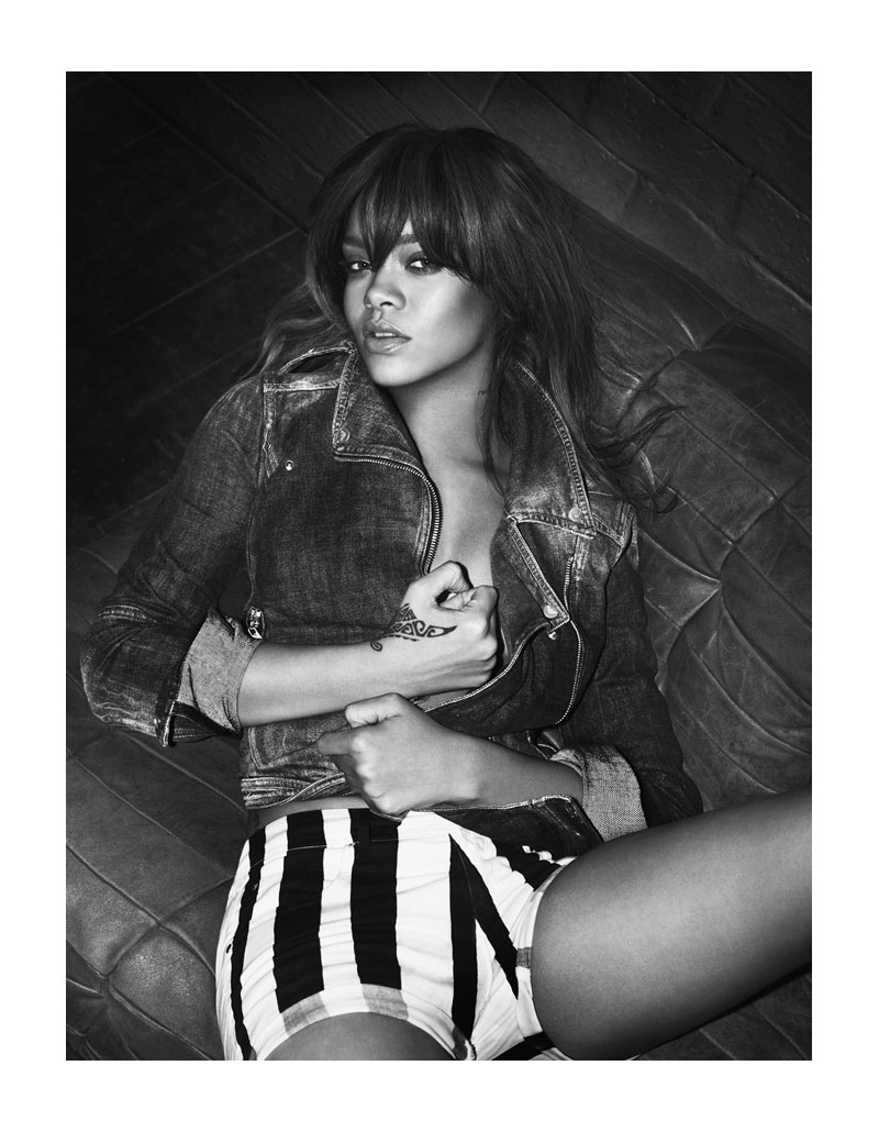 Rihanna for Emporio Armani Underwear & Jeans Spring 2012 Campaign by Mert & Marcus