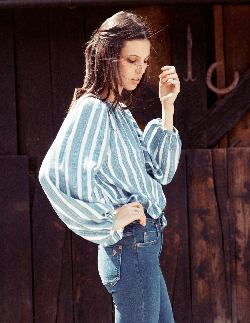 Ruby Aldridge for MiH Jeans Spring 2012 Collection