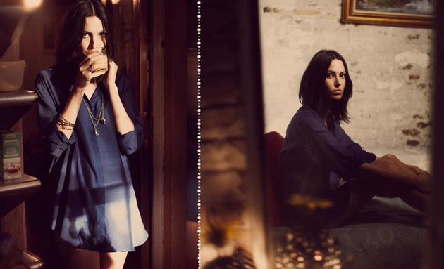 Ruby Aldridge for MiH Jeans x Shopbop Resort 2012 Collection by Guy Aroch
