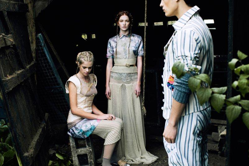 Valerie van der Graaf & Johanna Fosselius by Jeff Hahn for Tatler Hong Kong