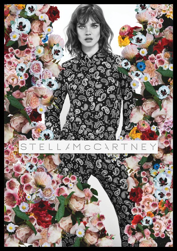 Natalia Vodianova for Stella McCartney Spring 2012 Campaign by Mert & Marcus
