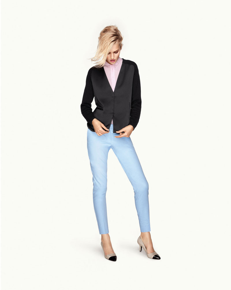 Toni Garrn for H&M Trend Update