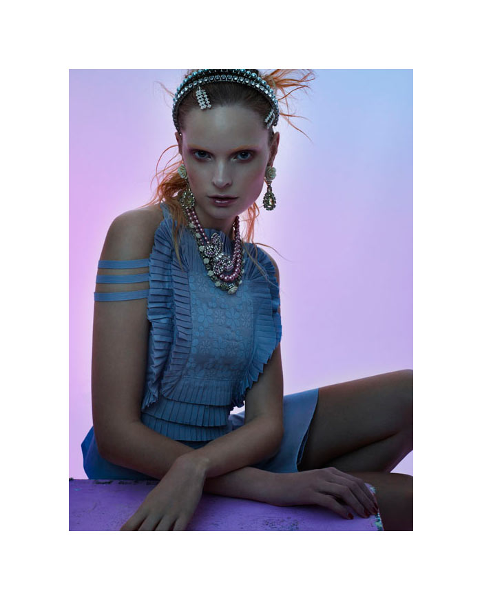Agnete Hegelund by Stefano Moro Van Wyk for Flair February 2012