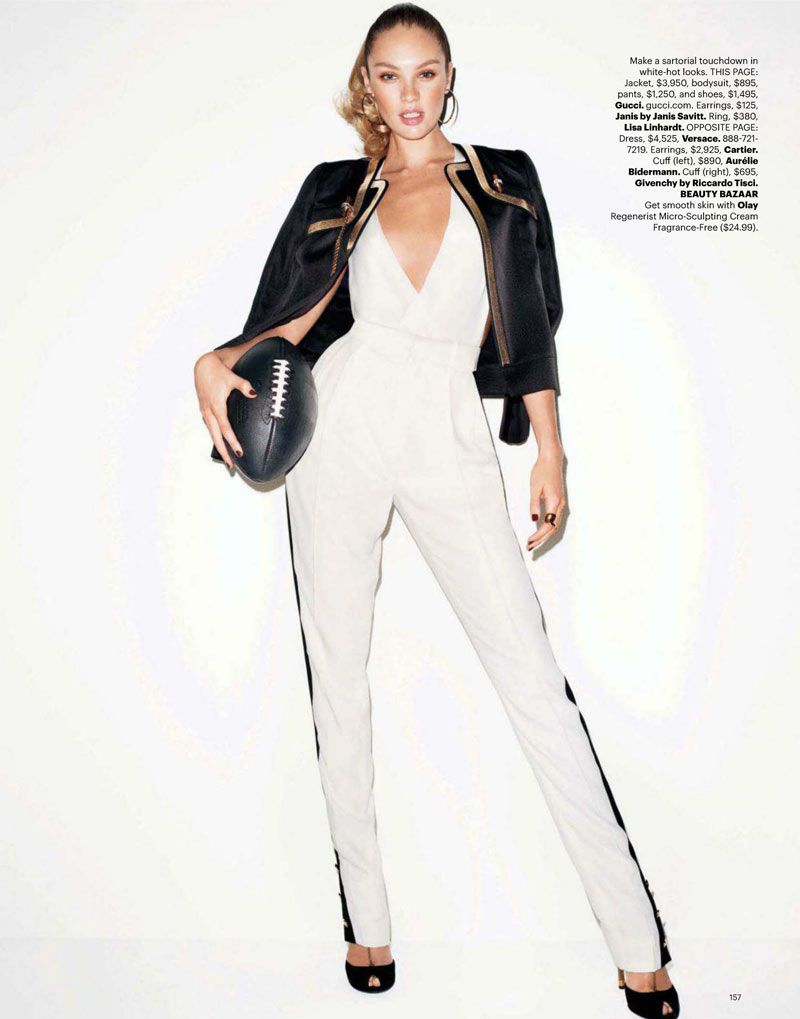 Candice Swanepoel by Terry Richardson for Harper's Bazaar US