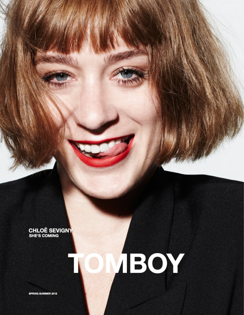 Chloe Sevigny for Tomboy Spring 2012 Campaign by Daniel Jackson