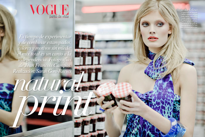 Constance Jablonski by Jean-François Campos for Vogue Latin America February 2012