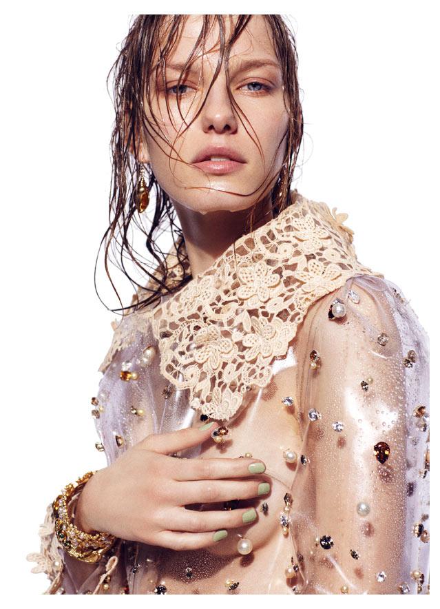 Marique Schimmel by Benny Horne for Harper's Bazaar Australia March 2012