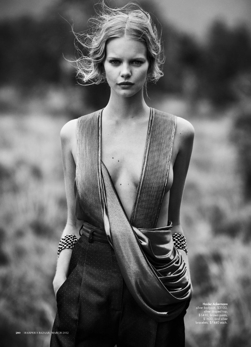 Marloes Horst by Will Davidson for Harper's Bazaar Australia March 2012