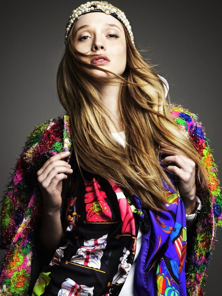 Natalia Zakharova by Dimitris Skoulos for Elle Greece February 2012
