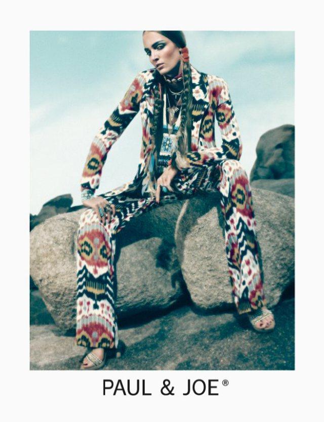 Zuzanna Bijoch for Paul & Joe Spring 2012 Campaign by Mikael Jansson