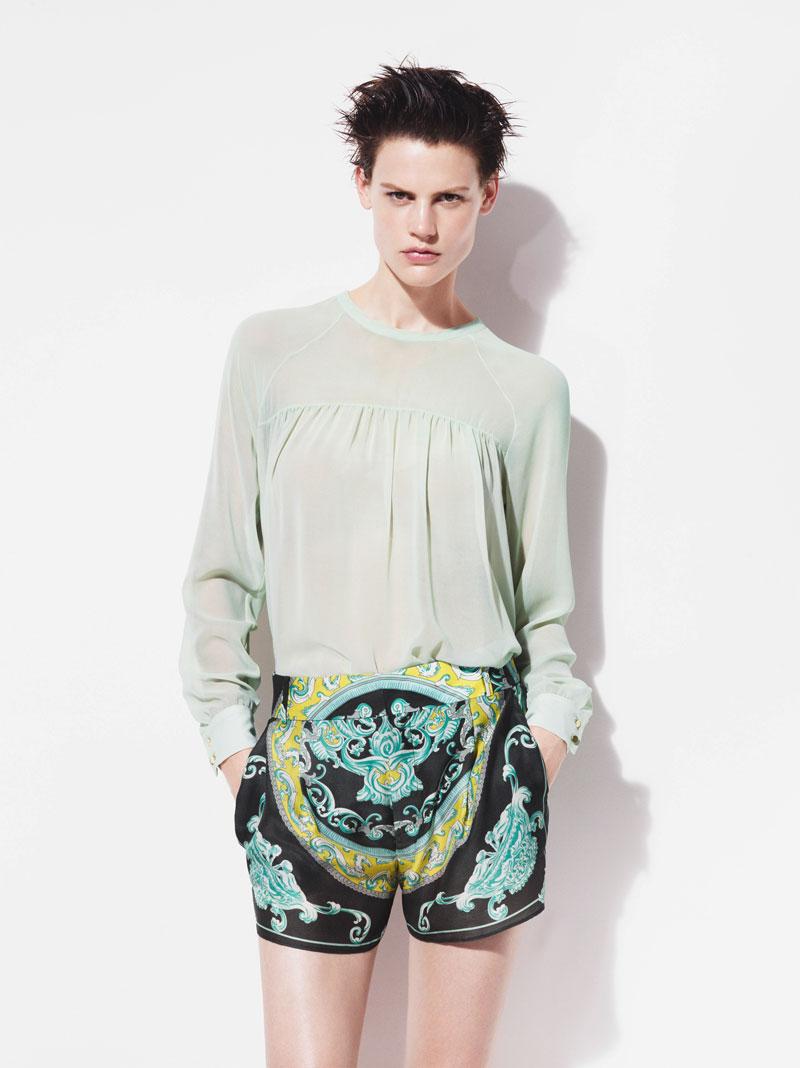 Saskia de Brauw for Zara Spring 2012 Campaign
