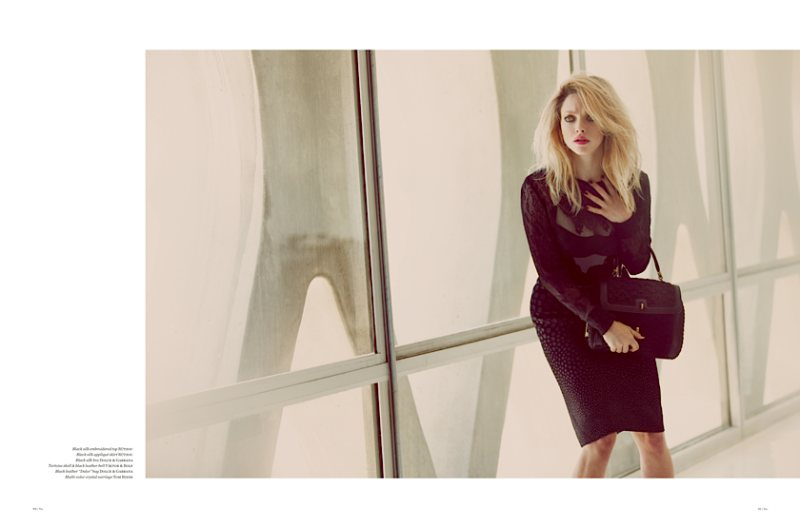 Amanda Seyfried Gets Dramatic for Vs. Magazine, Lensed by Guy Aroch