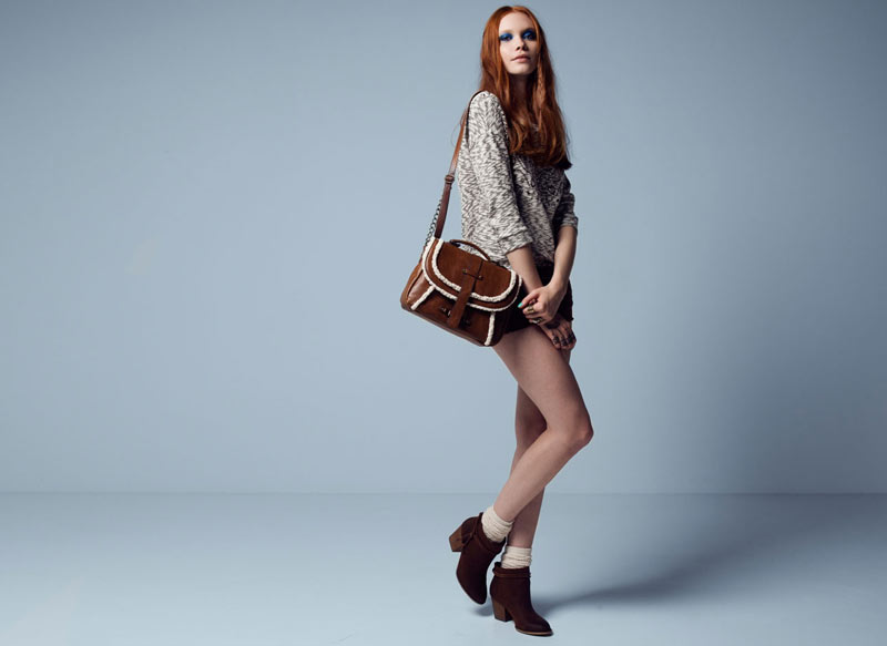 BSK by Bershka Looks West for its October 2012 Lookbook