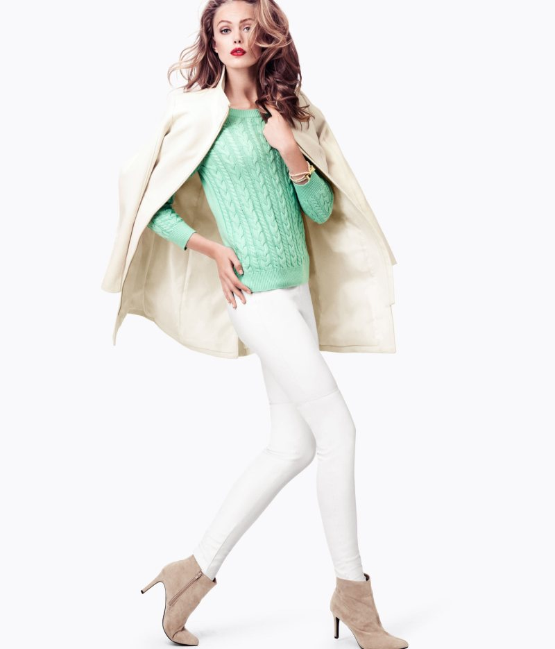 Frida Gustavsson Sports H&M's Winter Pastels