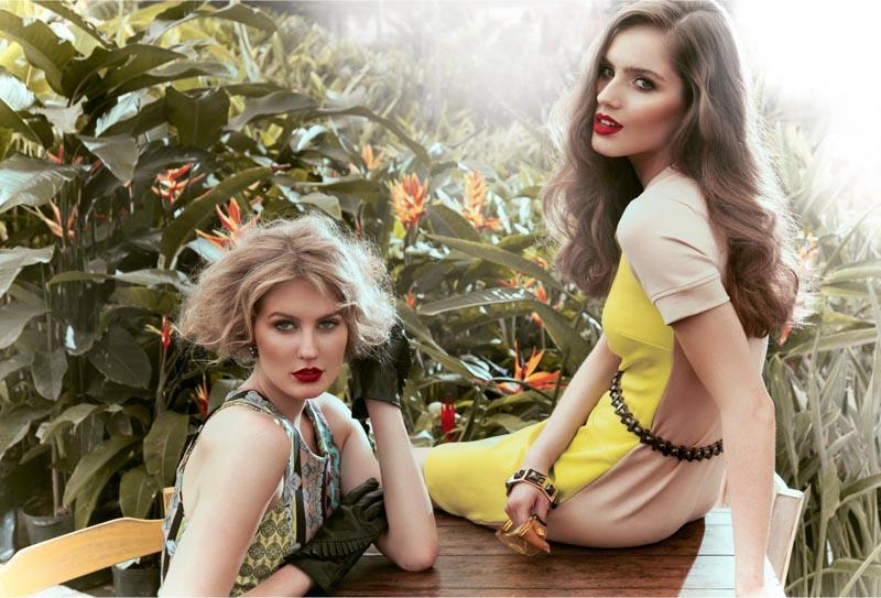 Vanessa Ellis Captures Chic Garden Style for Level Magazine #10