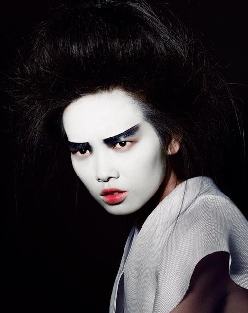 Grace Gao Stuns in Eastern Beauty for Rodeo Magazine by Bjarne Jonasson