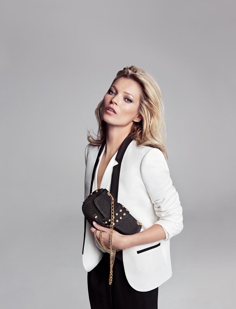 Kate Moss is On Trend for Mango's Winter 2012 Campaign by Inez & Vinoodh