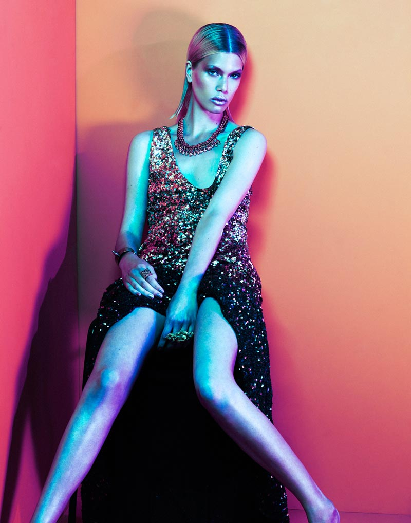 """Kat Cordts by Daniel Nadel in """"Love Stoned"""" for Fashion Gone Rogue"""