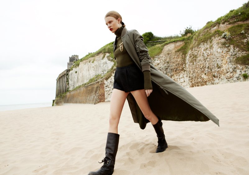 Tina Luther Captures a Military Outing for Grazia Germany