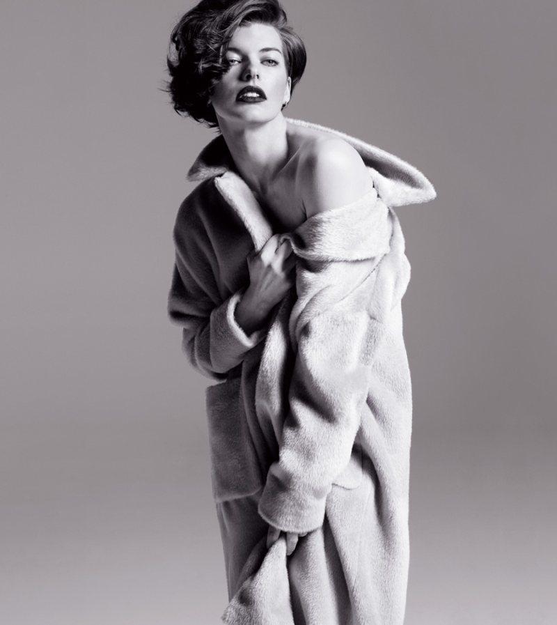 Milla Jovovich Stars in the Marella Fall 2012 Campaign by Inez & Vinoodh