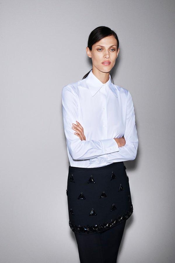 Zara Taps Aymeline Valade for its October 2012 Lookbook