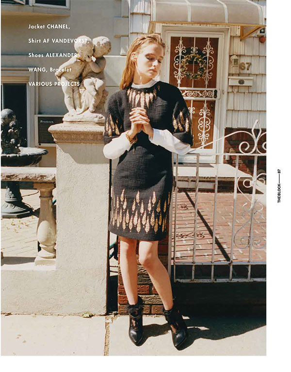 Amanda Norgaard is Born Again for The Block A/W 2012 by Tung Walsh