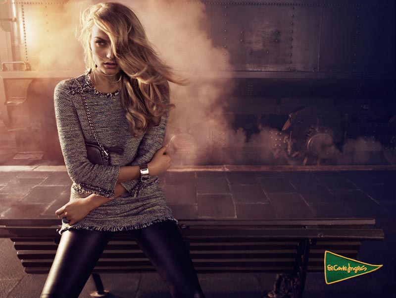 Anna Jagodzinska Stars in El Corte Ingles' Fall 2012 Campaign by Hunter & Gatti