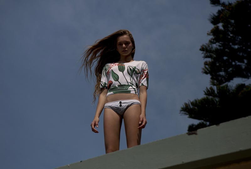 New Face Anna Laman Goes Beachside with Photographer Natalie Cottee