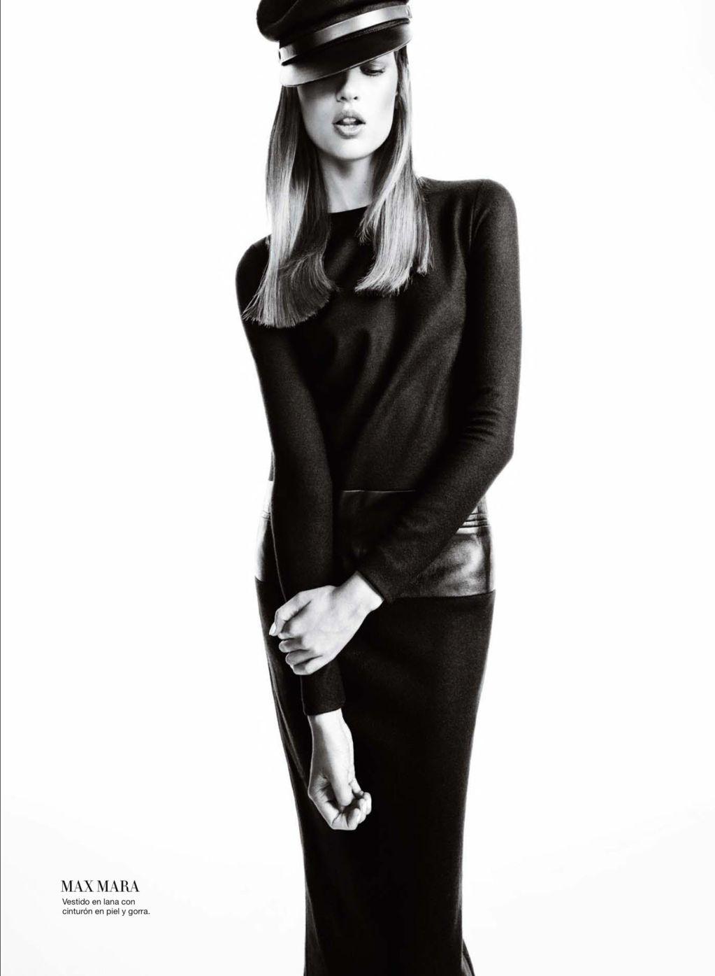 Bette Franke Goes to the Dark Side for Harper's Bazaar Spain October 2012