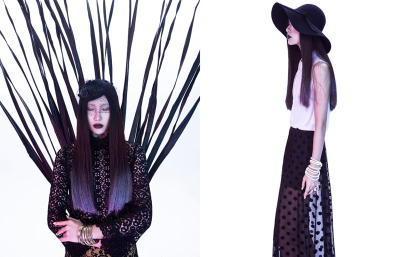 """Man Wang by Yang Wang in """"Flower Soul"""" for Fashion Gone Rogue"""