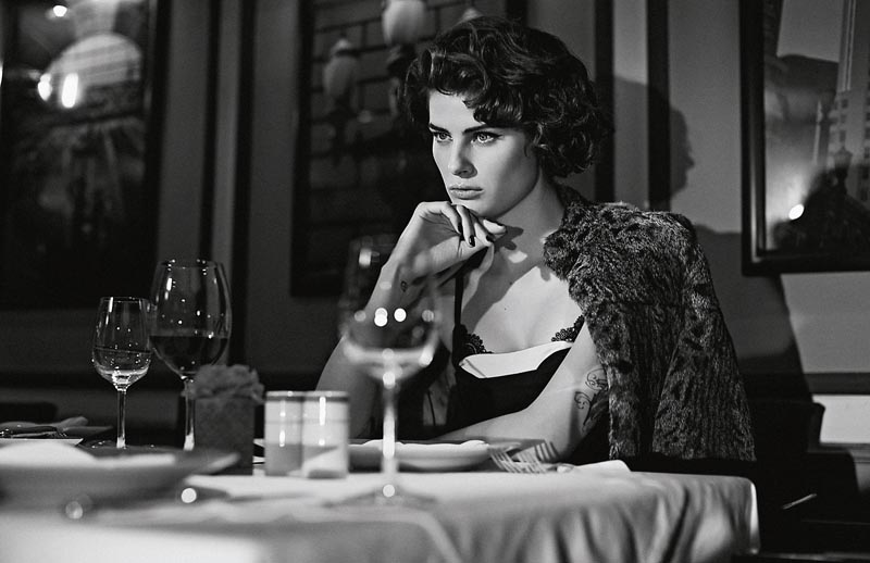 Isabeli Fontana Gets Cinematic for the Cover Story of Schön #19 by Gustavo Zylbersztajn