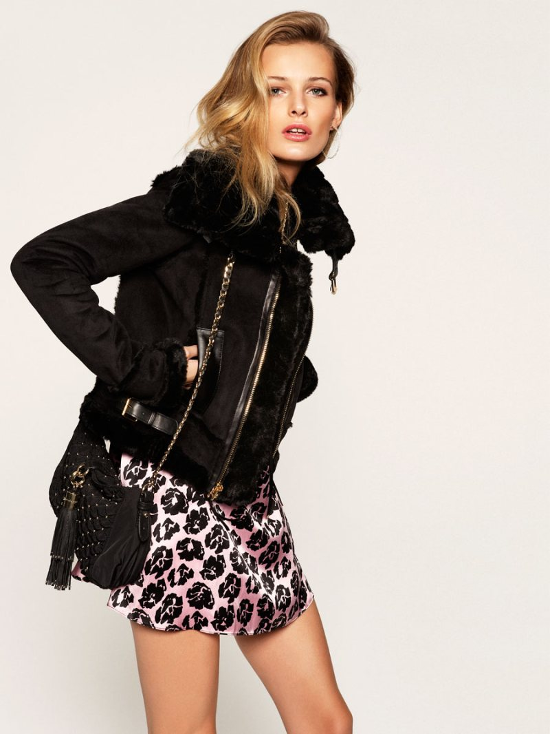 Edita Vilkeviciute is Glam in Juicy Couture's Holiday 2012 Collection