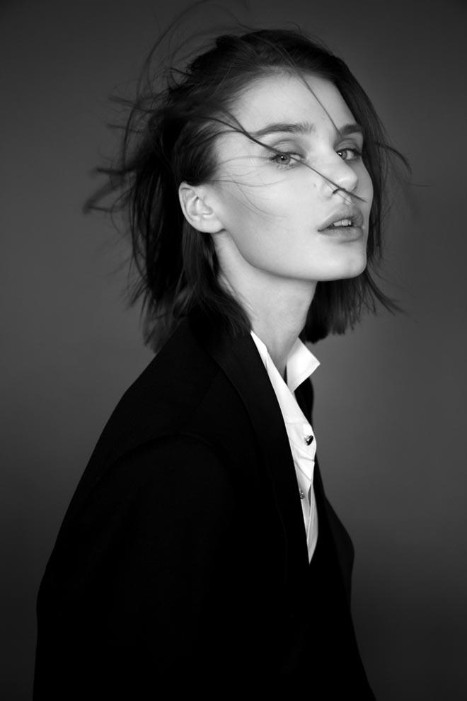 Fresh Face Nicole Poses for Krzysztof Wyzynski